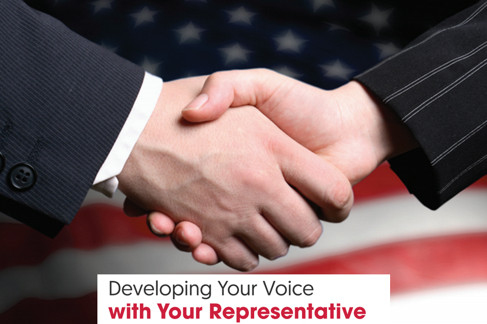 Developing Your Voice with Your Representative
