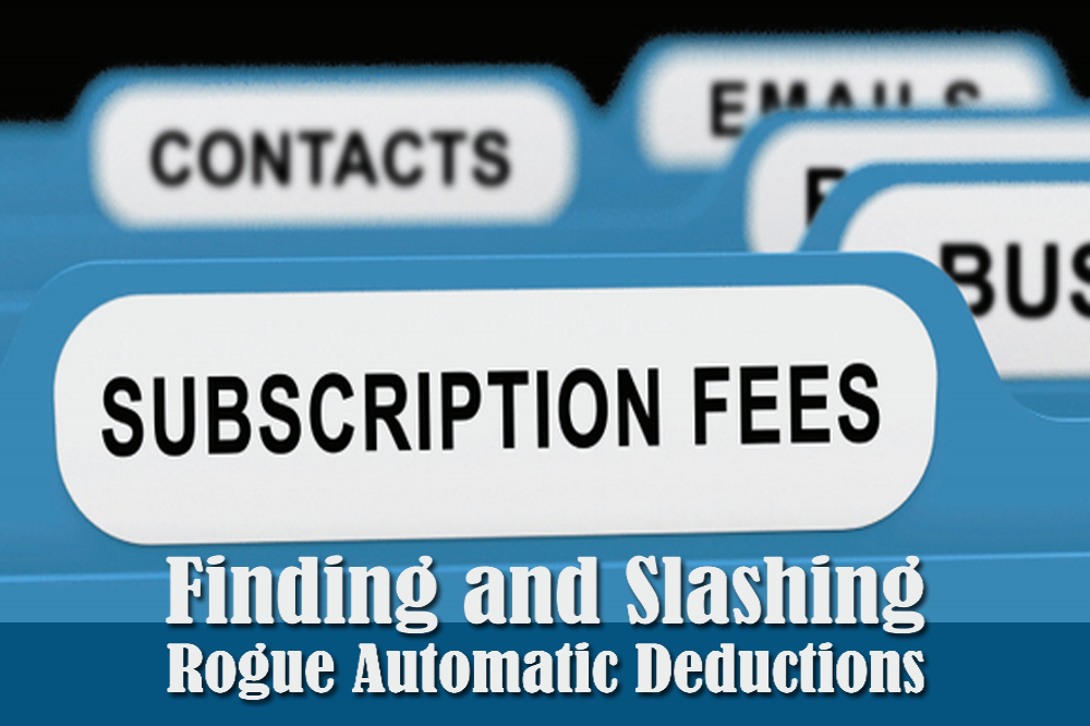Finding and Slashing Rogue Automatic Deductions