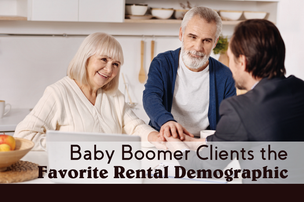 Baby Boomer Clients the Favorite Rental Demographic